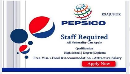 Photo of MANY JOB VACANCIES AT PEPSICO