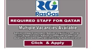 NEW JOB OPENINGS! RASGAS