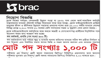 Photo of BRAC NGO Jobs Circular-careers.brac.net