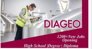 DIAGEO CAREERS – CLICK AND APPLY NOW