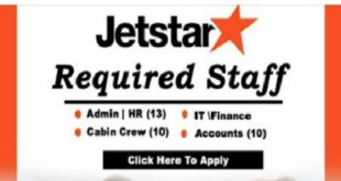 Hiring Now at JET STAR