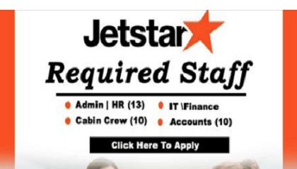 Photo of Hiring Now at JET STAR