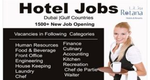 LATEST HOTEL JOB VACANCIES @ ROTANA
