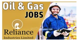 Job Vacancies at Reliance Industries 2020