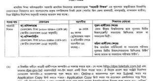Primary Job Circular 2020 Apply Link