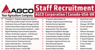 AGCO Corporation Job Vacancies