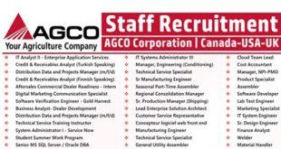 AGCO Corporation Job Vacancies