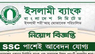 Photo of Islami Bank Bangladesh Limited Job Circular 2021