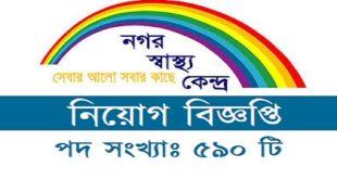 Nagar Shastho Kendro published a Job Circular.