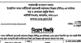 Office of the Registrar (CCA) of the Electronic Signature Certificate Authority