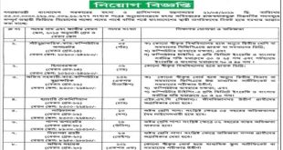 Ministry of Fisheries and Livestock Job Circular 2020