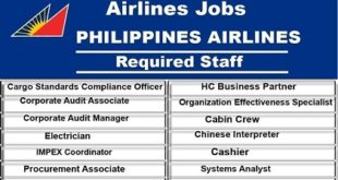Philippine Airlines Jobs