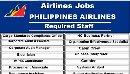 Photo of Philippine Airlines Jobs