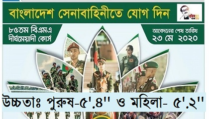 Photo of Job Circular Bangladesh Army