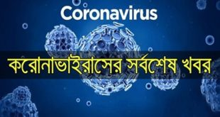 Get the Update news from the Corona virus in one click