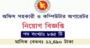 Office Assistant jobs circular
