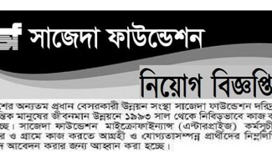 Photo of Sajida Foundation Job Circular