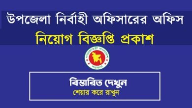 Photo of Job Circular Upazila Parishad 2020
