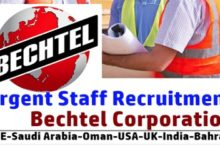 Photo of Job Vacancies at Bechtel