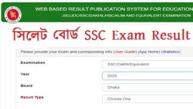 Photo of Sylhet Board SSC Exam Results 2020