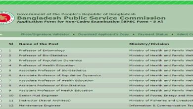 Photo of Jobs Vacancy at Bangladesh Public Service Commission