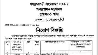 Photo of District commissioner office published a Job Circular.