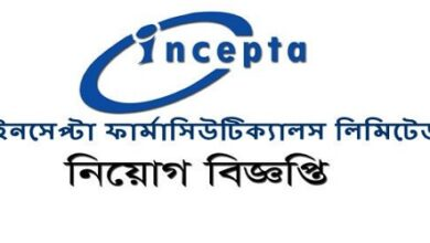 Photo of Incepta Pharmaceuticals published a Job Circular