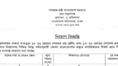 Photo of Career Opportunity at Ministry of Information