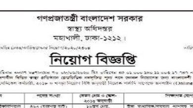 Photo of Directorate General of Health Services Job Circular