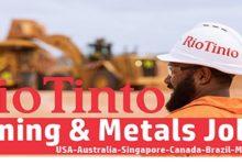 Photo of Rio Tinto Careers   Mining & Metals Vacancies   Worldwide