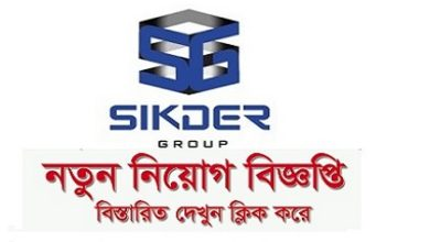 Photo of Sikder Group Job Circular