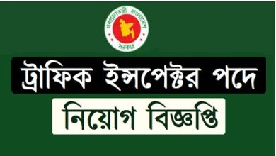 Photo of Traffic Inspector Job Circular