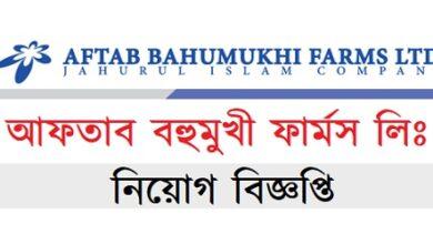 Photo of Aftab Bahumukhi Farms Ltd Job Circular