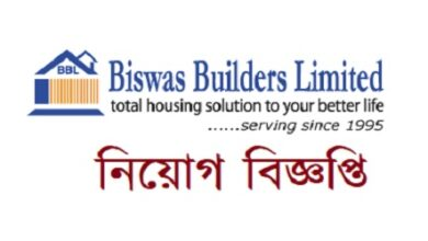 Photo of Biswas Builders Limited Job Circular