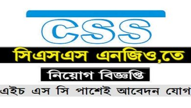 Photo of CSS Job circular