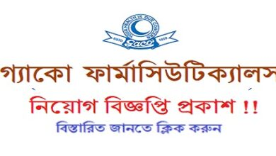 Photo of (G.A. Company Ltd.) Gaco Pharmaceuticals Job Circular
