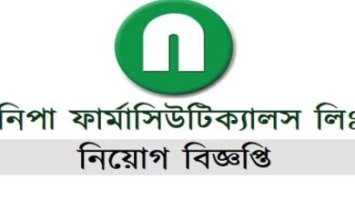 Photo of Nipa Pharmaceuticals Ltd Job Circular