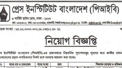 Photo of Press Institute Bangladesh (PIB) Job Circular