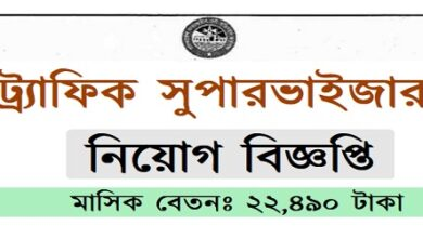 Photo of Traffic Supervisor Job Circular
