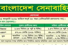 Photo of Career at Bangladesh Army
