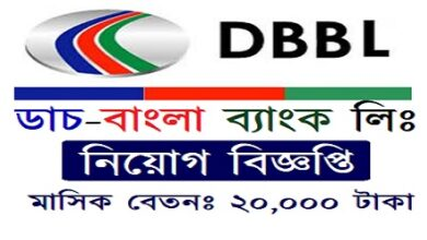 Photo of Job Circular Dutch Bangla Bank Ltd