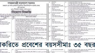 Photo of Job Circular Ministry Of Land 2020