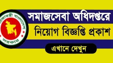 Photo of Ministry Of Social Welfare published a Job Circular.