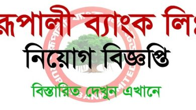 Photo of Rupali Bank Ltd published a Job Circular