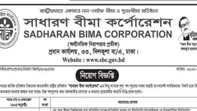 Photo of Sadharan Bima Corporation Job Circular.