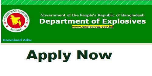 Photo of Department of Explosives Job Circular