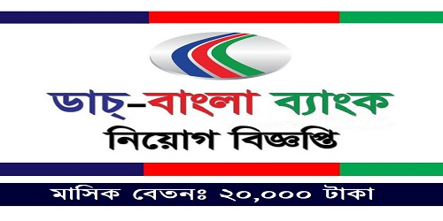 Photo of Job Circular Dutch Bangla Bank 2021