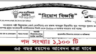 Photo of Bangladesh Rural Electrification Board-REB Job Circular