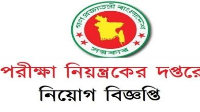 Photo of Examination controller's office Job Circular