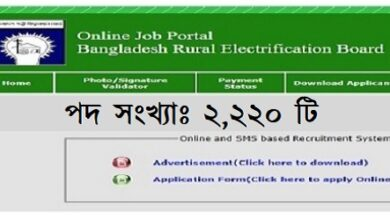 Photo of Bangladesh Power Development Board Job Circular 2021